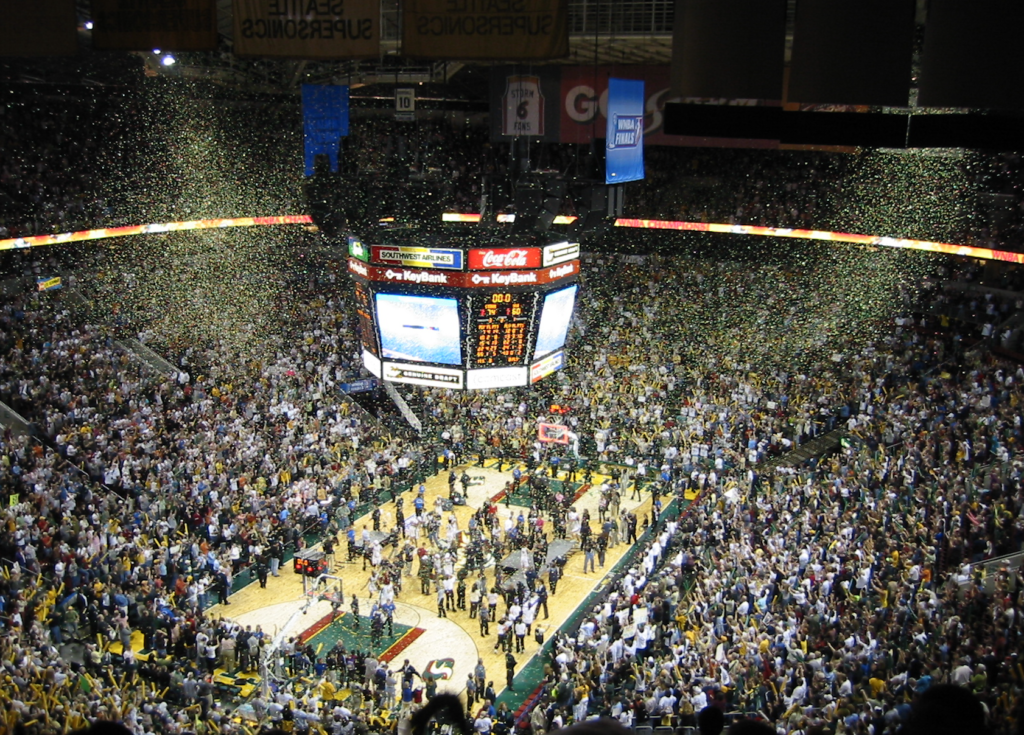 seattle storm wnba champions oct 2004