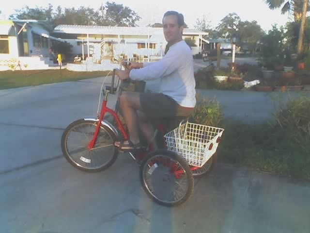 dave 3 wheeler bike florida